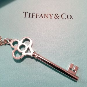 TIFFANY & Co. Large Crown Key Pendant